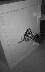 Tresoröffnung mit Dialer (Schrittmotor)
